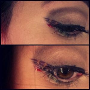 plaid eyes