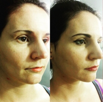 Before & After with M.U.D Makeup