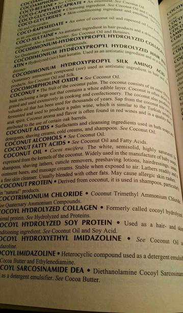 "From my ""Consumers Dictionary of Cosmetic Ingredients"""