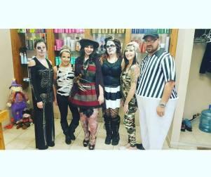 Hair Infinity Crew halloween 2015