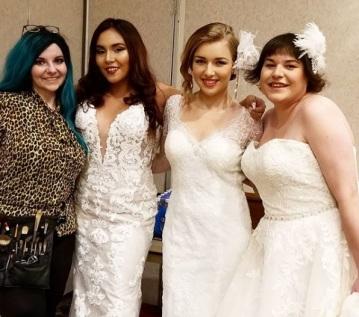 me wedding show runway 2018